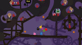Screenshot zu LocoRoco Midnight Carnival