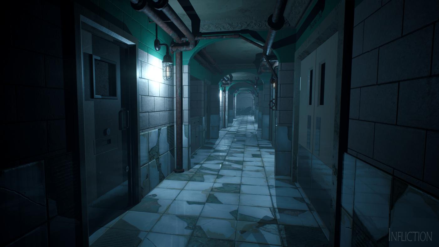 Ein Abstecher in eine Psychiatrie darf in keinem Horror-Game fehlen.