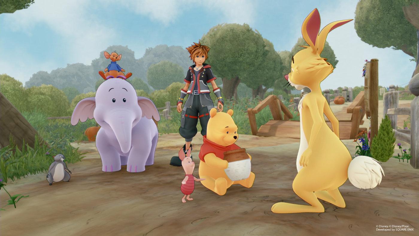 Was wäre Kingdom Hearts ohne Winnie Pooh und seine Freunde?