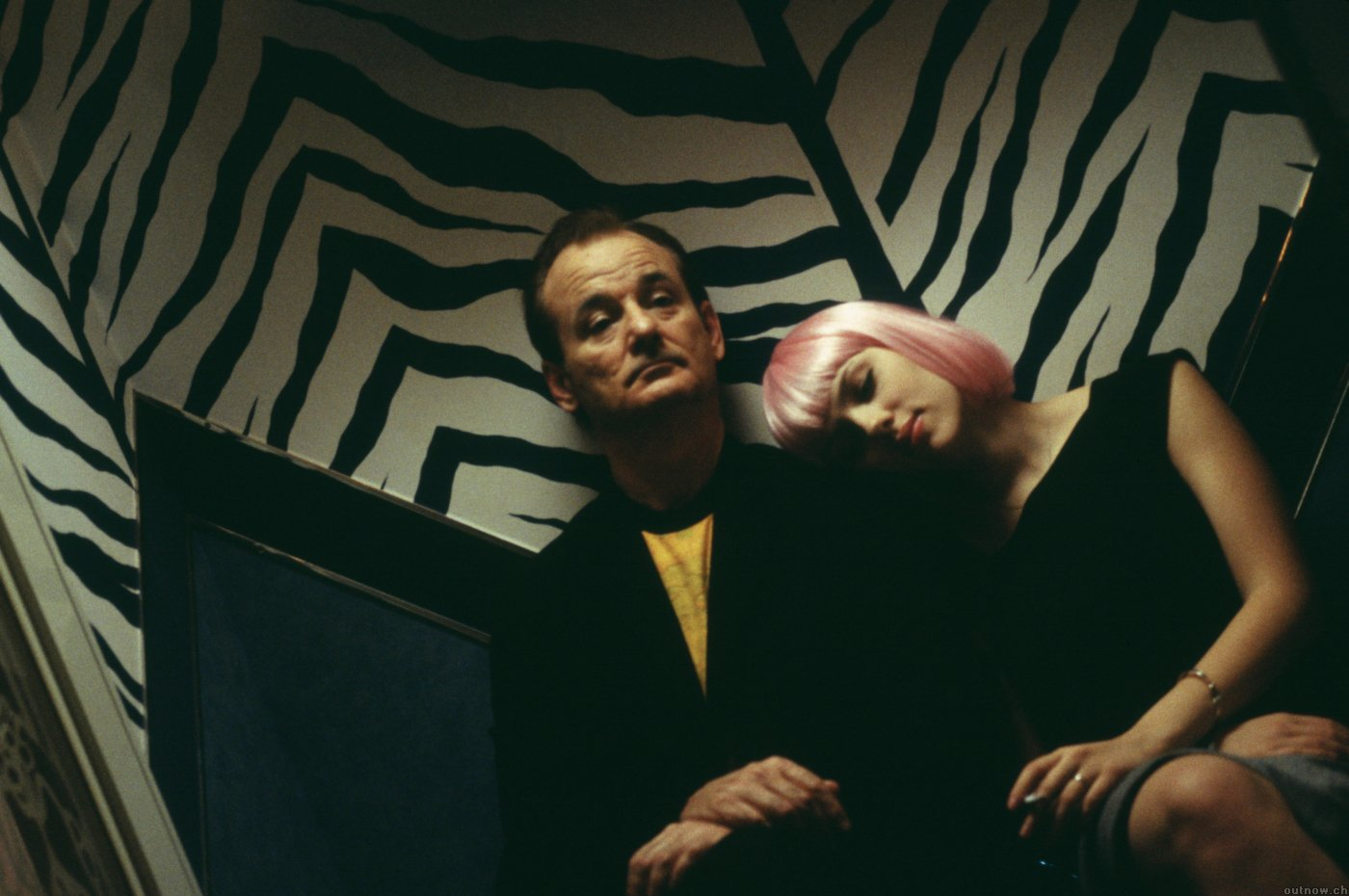 salah satu adegan di film Lost in Translation