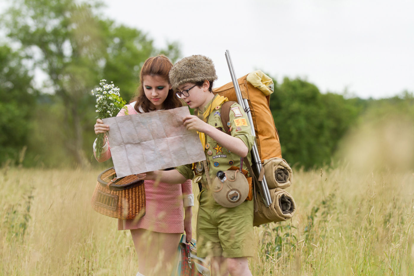 salah satu adegan di Moonrise Kingdom