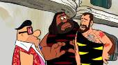 Film-Szenenbild zu The Flintstones and WWE: Stone Age Smackdown