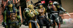 Film-Szenenbild zu Teenage Mutant Ninja Turtles 2