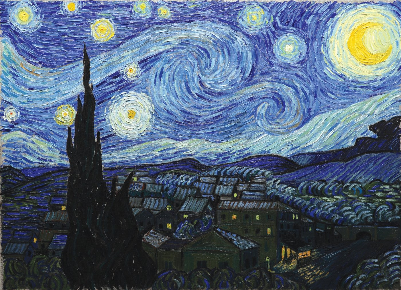 Starry, starry night...