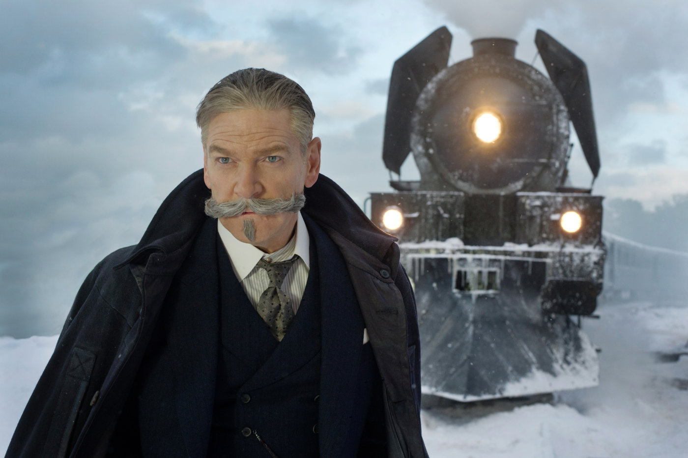 Kenneth Branagh als Hercule Poirot in «Murder on the Orient Express»