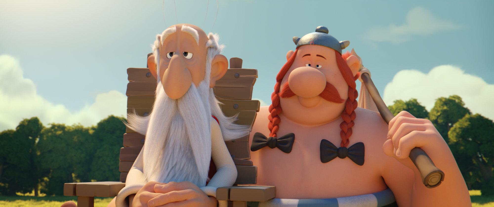 Miraculix und Obelix leiden an Montag.