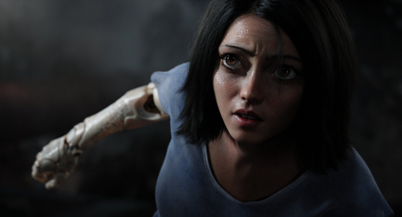 Don't battle with Alita.