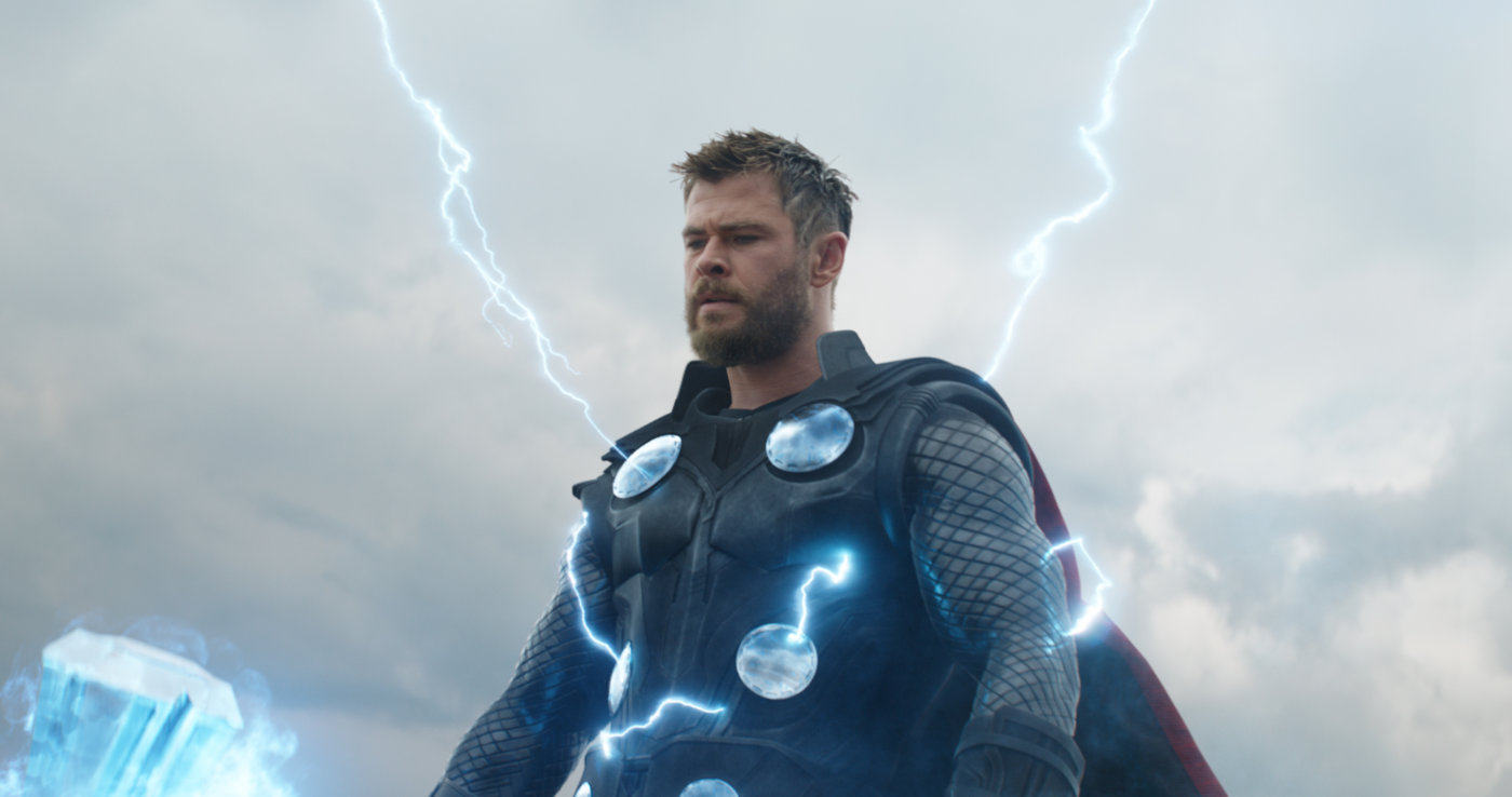 Hemsworth in «Avengers: Endgame»