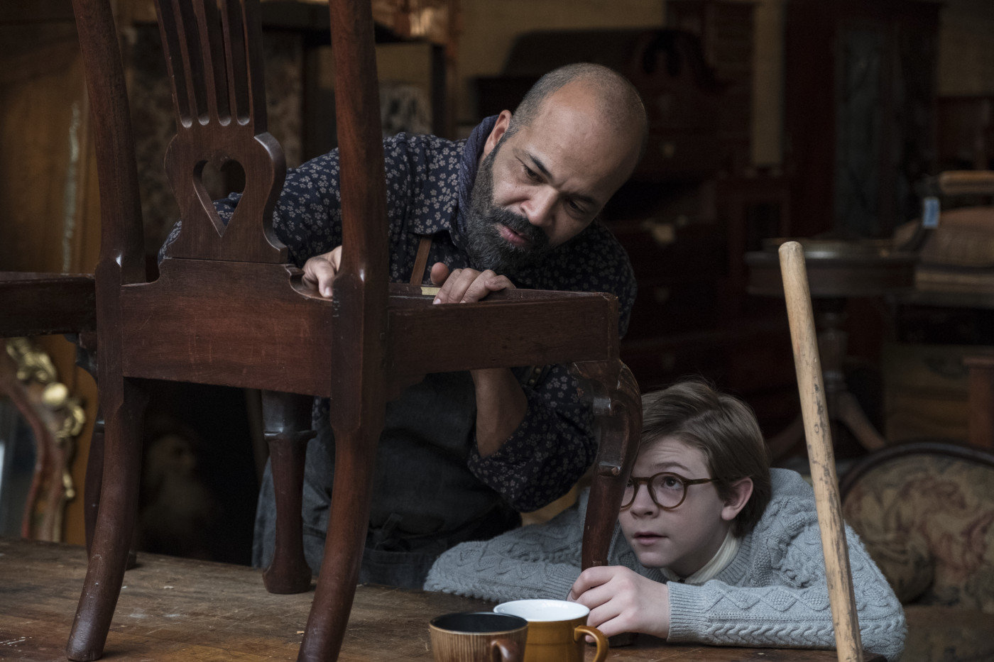 "Jeffrey Wright in ""The Goldfinch"""