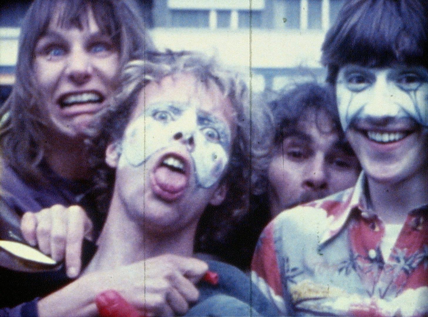 Crazy in den 70ern...