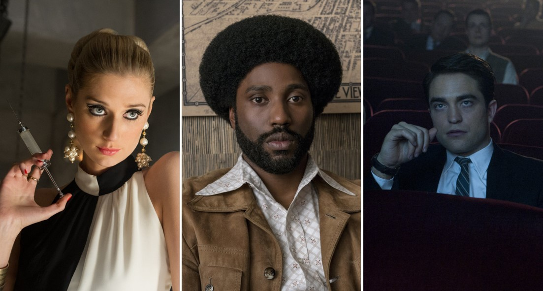 "Elizabeth Debicki in ""The Man from U.N.C.L.E."", John David Washington in ""BlackKklansman"" und Robert Pattinson in ""Life"""