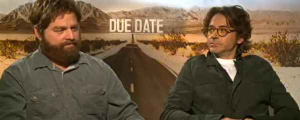Interview: Robert Downey Jr. & Zach Galifianakis