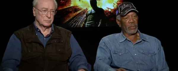 Interview: Michael Caine und Morgan Freeman