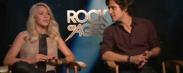 Interview: Julianne Hough, Diego Boneta