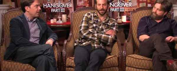 Interview: Bradley Cooper, Ed Helms, Zach Galifianakis